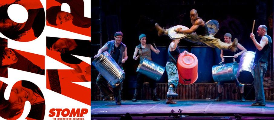 Stomp at Valley Performing Arts Center