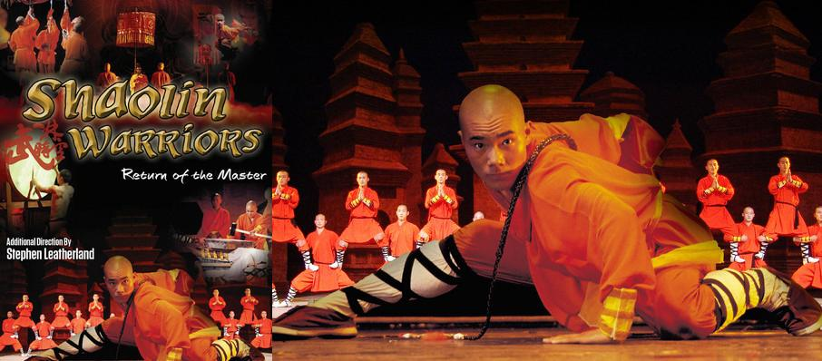 Shaolin Warriors at Valley Performing Arts Center