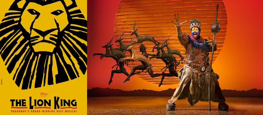 The Lion King at Pantages Theater Hollywood