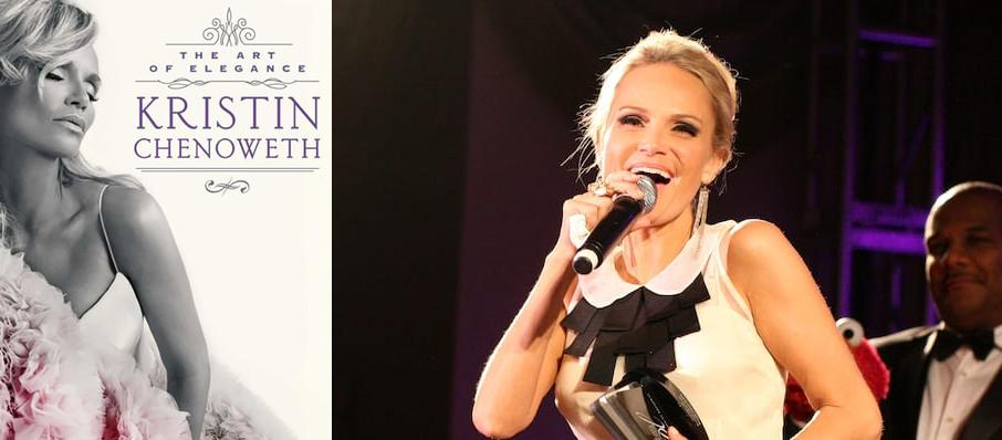 Kristin Chenoweth at Walt Disney Concert Hall
