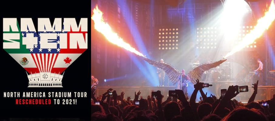Rammstein at Los Angeles Memorial Coliseum