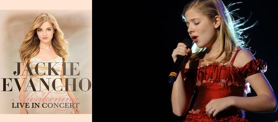 Jackie Evancho at Cerritos Center