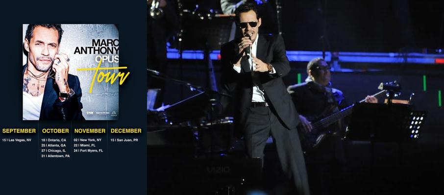 Marc Anthony at Staples Center
