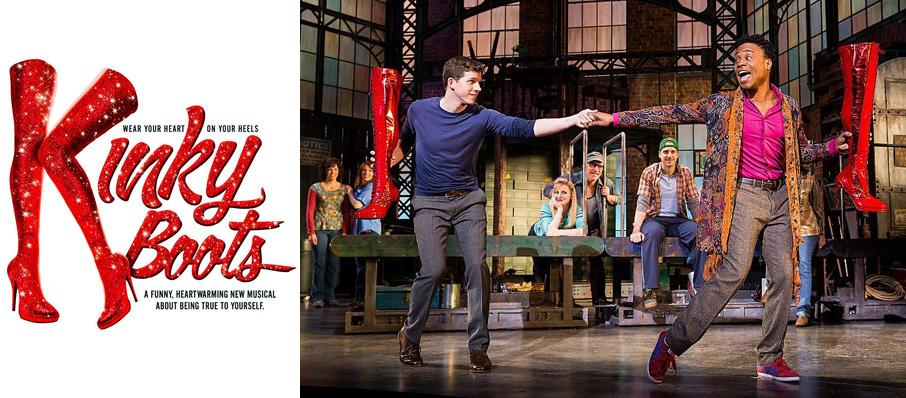 Kinky Boots at Fred Kavli Theatre