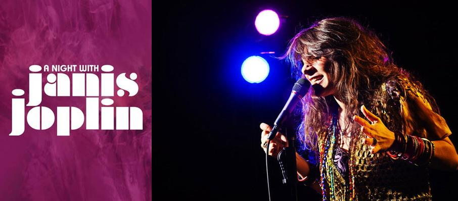 A Night with Janis Joplin at Saban Theater