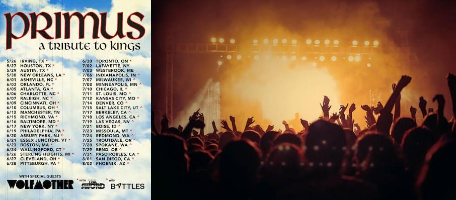 Primus at Greek Theater
