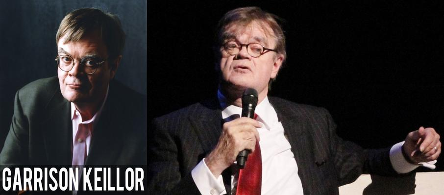 Garrison Keillor at Fred Kavli Theatre