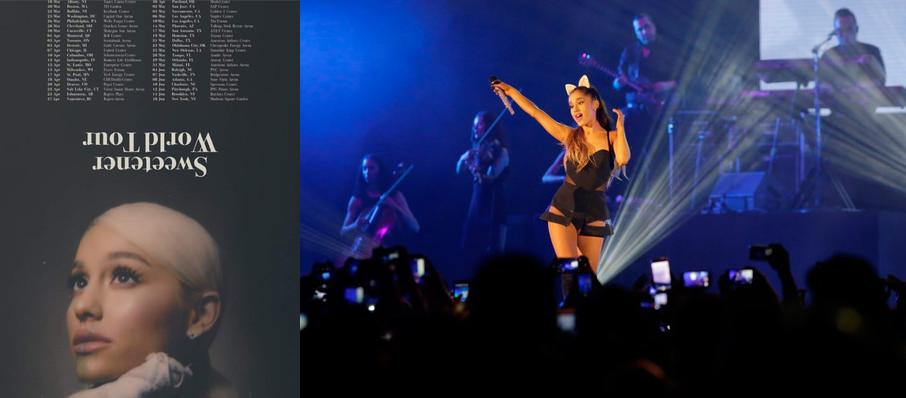 Ariana Grande at Honda Center Anaheim