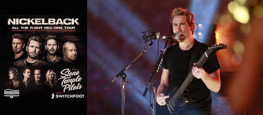 Nickelback at FivePoint Amphitheatre