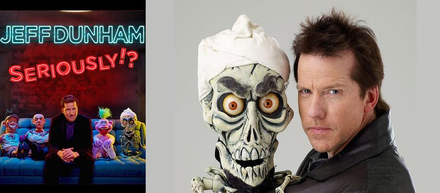 Jeff Dunham at Toyota Arena