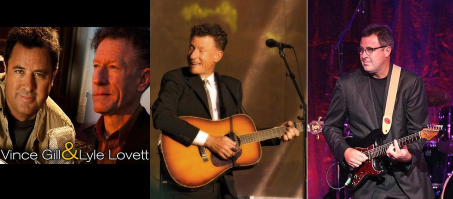 Vince Gill & Lyle Lovett at Fred Kavli Theatre