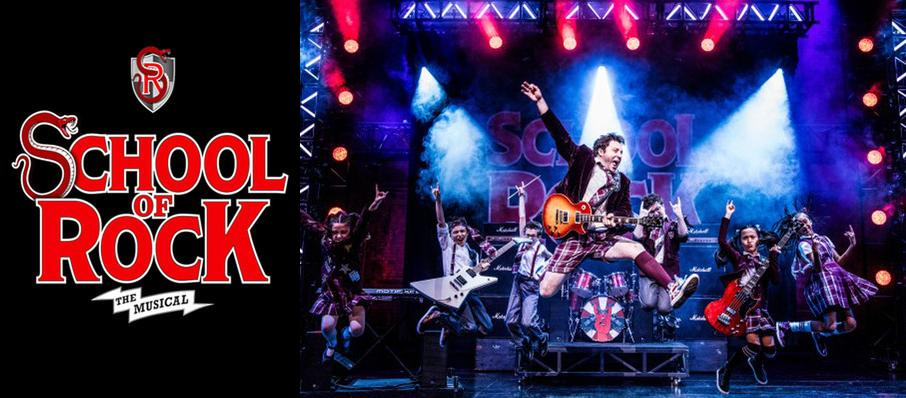 School of Rock at Pantages Theater Hollywood