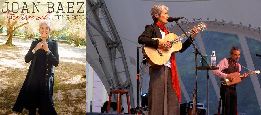 Joan Baez at Royce Hall