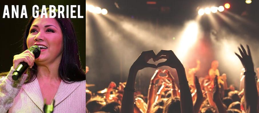 Ana Gabriel at The Forum