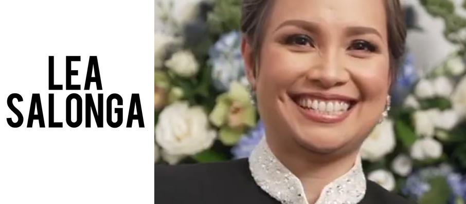 Lea Salonga at Valley Performing Arts Center