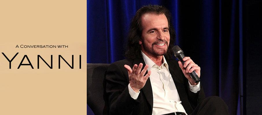 A Conversation With Yanni at Royce Hall
