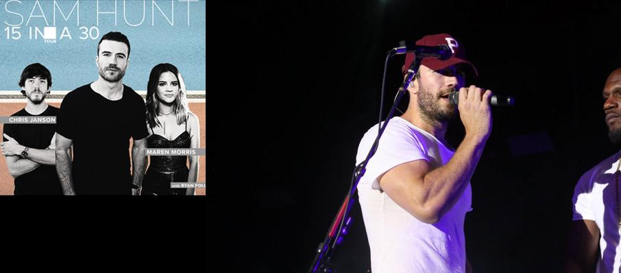 Sam Hunt With Maren Morris at Greek Theater