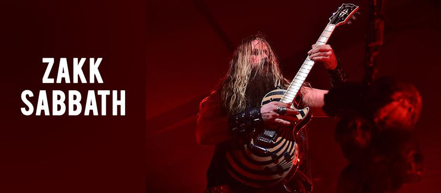 Zakk Sabbath at The Fonda Theatre