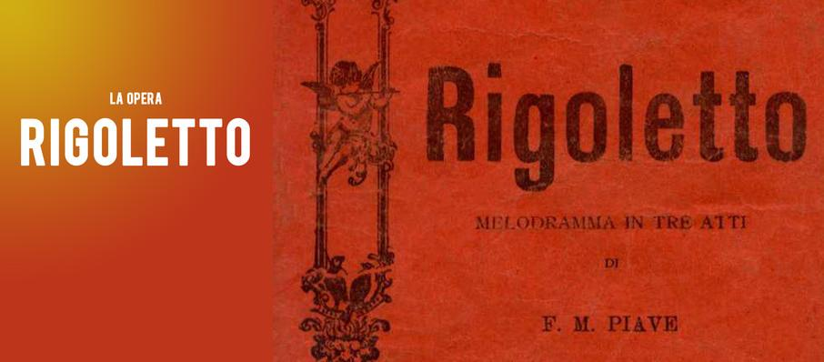 La Opera - Rigoletto at Dorothy Chandler Pavilion