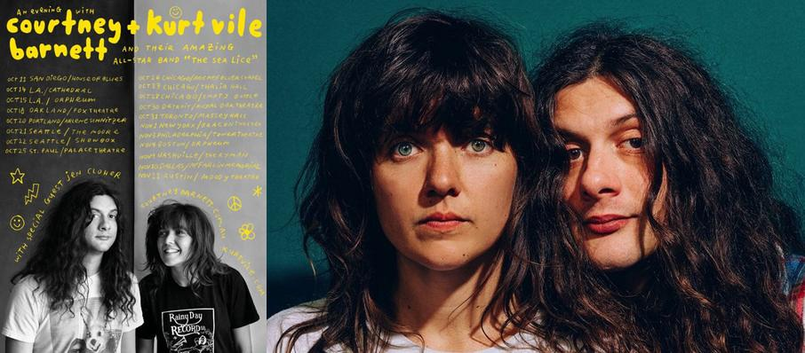 Courtney Barnett and Kurt Vile at Orpheum Theater