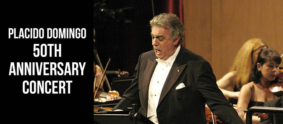 Placido Domingo 50th Anniversary Concert at Dorothy Chandler Pavilion