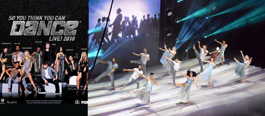 So You Think You Can Dance Live at Dolby Theatre