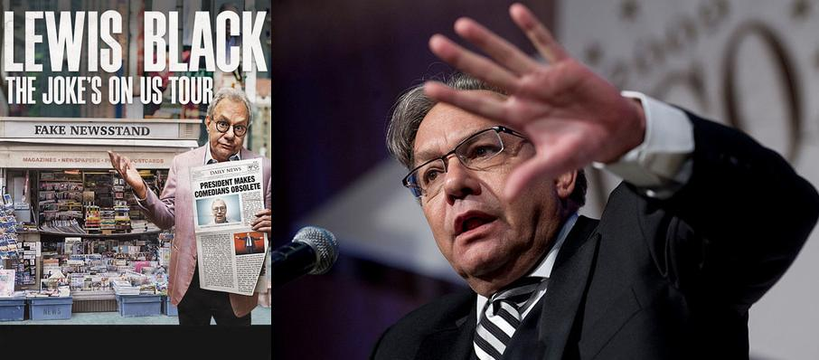 Lewis Black at Fox Performing Arts Center