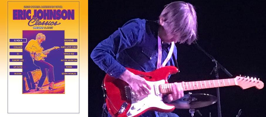 Eric Johnson at Regent Theatre