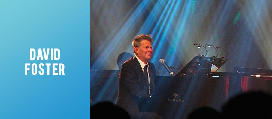 David Foster at Fred Kavli Theatre