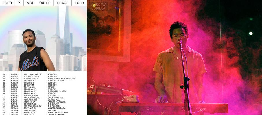 Toro Y Moi at Hollywood Palladium
