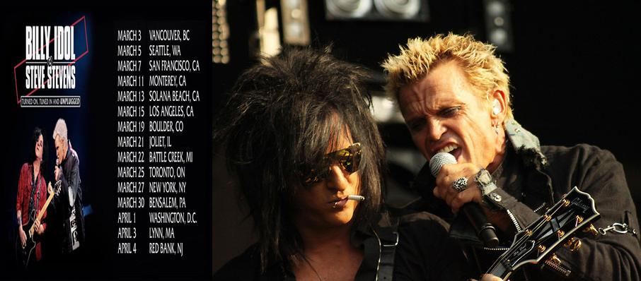 Billy Idol and Steve Stevens at Ace Hotel