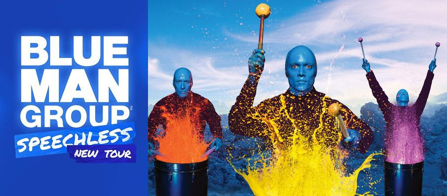 Blue Man Group at Pantages Theater Hollywood