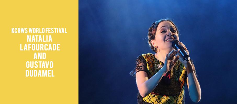 KCRWs World Festival - Natalia Lafourcade and Gustavo Dudamel at Hollywood Bowl