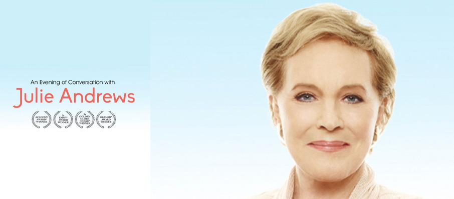 Julie Andrews at Orpheum Theater