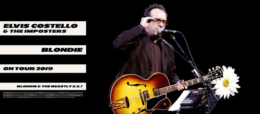 Elvis Costello and Blondie at Pechanga Entertainment Center