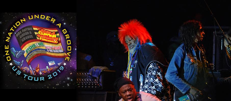 George Clinton and Parliament Funkadelic at Greek Theater
