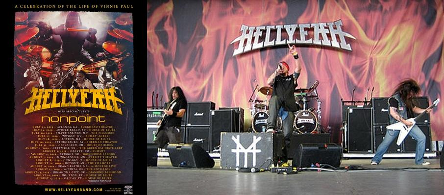 Hellyeah at Regent Theatre