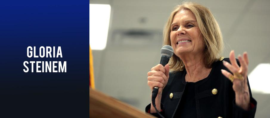 Gloria Steinem at The Theatre at Ace