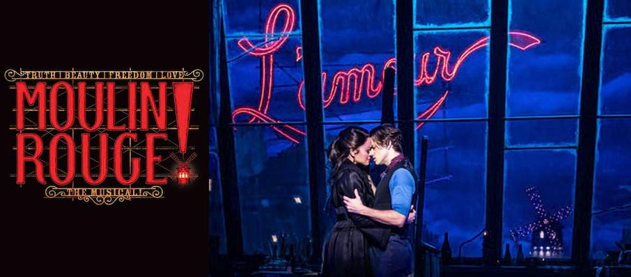Moulin Rouge! The Musical at Pantages Theater Hollywood