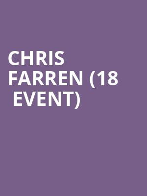 Chris Farren (18+ Event) at Moroccan Lounge