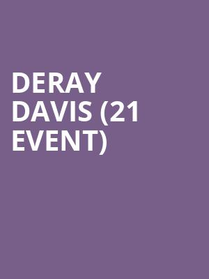 DeRay Davis (21+ Event) at Improv Comedy Club