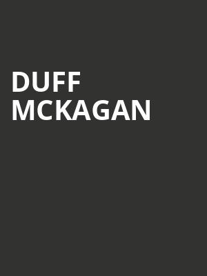 Duff Mckagan at El Rey Theater