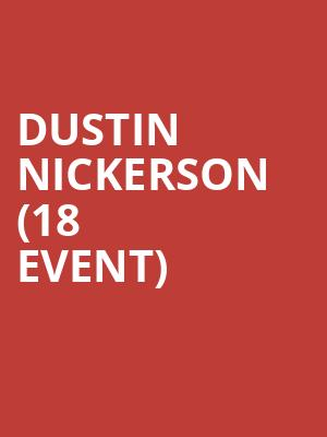 Dustin Nickerson (18+ Event) at Ontario Improv Comedy Club
