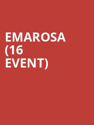 Emarosa (16+ Event) at Moroccan Lounge