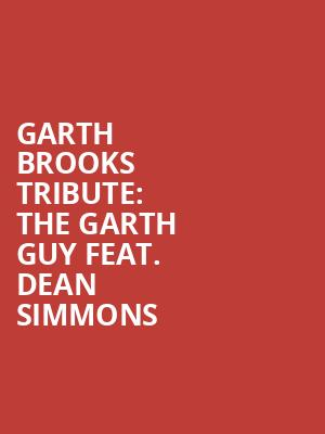 Garth Brooks Tribute: The Garth Guy feat. Dean Simmons at The Canyon Santa Clarita