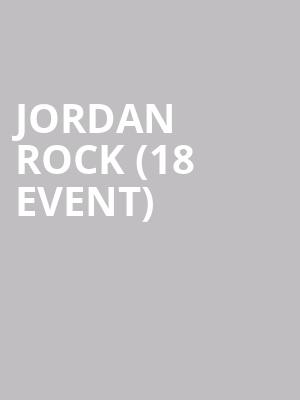 Jordan Rock (18+ Event) at Improv Comedy Club