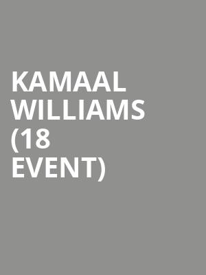 Kamaal Williams (18+ Event) at Echo