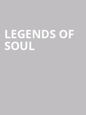 Legends of Soul at Long Beach Terrace Theater