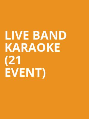 Live Band Karaoke (21+ Event) at Moroccan Lounge