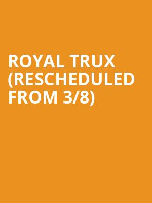 Royal Trux (Rescheduled from 3/8) at Teragram Ballroom